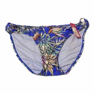 3/$25 Xhiliration Tropical Flower  Bikini Bottoms